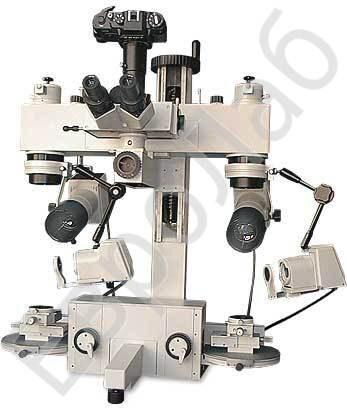 Микроскоп состоит из двух идентичных